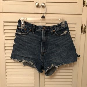 Abercrombie & Fich High Rise Shorts